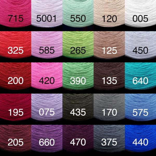 Dostępne kolory, Verfügbare Farben picktheyarn.com